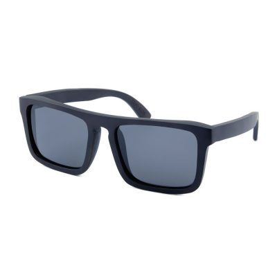 Black Wood Frame with Smoke Lenses - Dexter